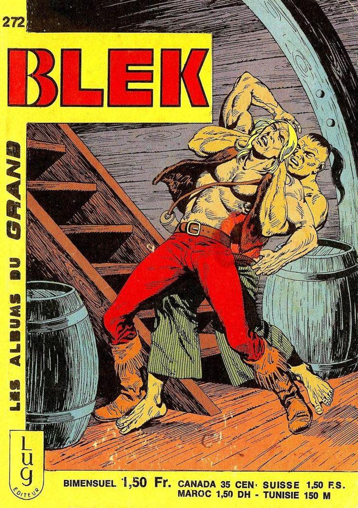Blek, dit Blek le roc, est un personnage de bande dessinée créé en Italie par le studio EsseGesse.Le héros éponyme est un trappeur américain d'origine bretonne qui participe à la Guerre d'indépendance des États-Unis contre les troupes anglaises («homards rouges»). Il est accompagné dans ses aventures par le jeune Roddy et l'érudit professeur Occultis, qui se révèle au fil des aventures aussi gourmand que machiavélique toujours prêt à bluffer l'ennemi.