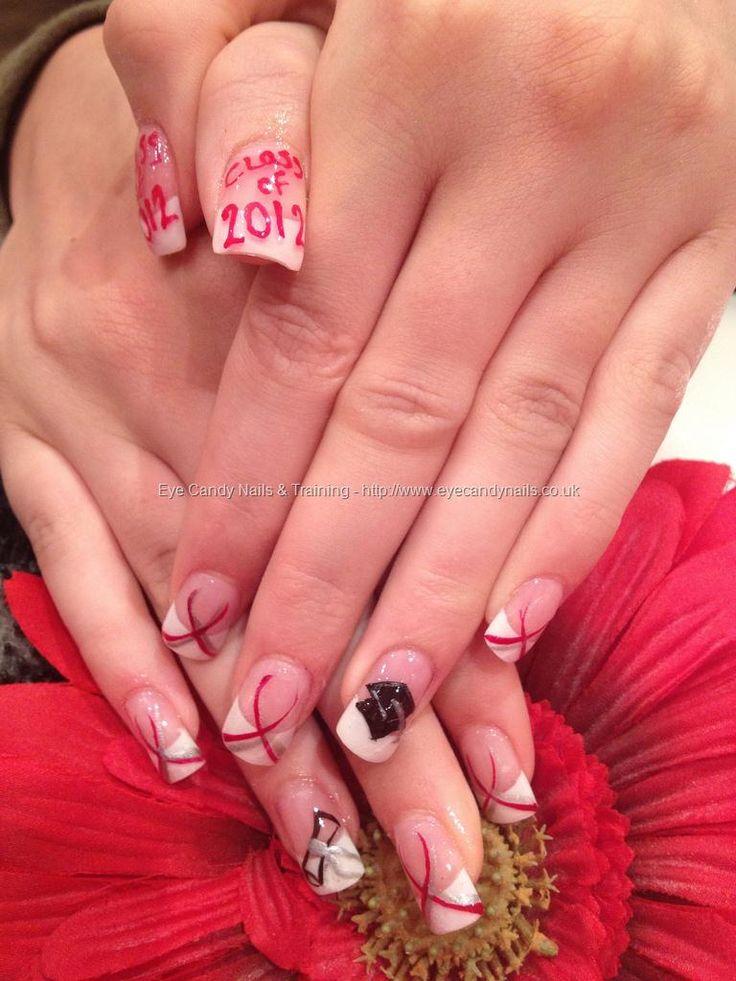 Acrylic graduation nails