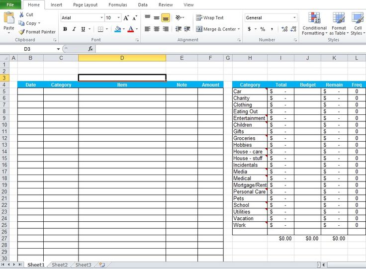 Daily Expenses Tracker Excel Template Free Download Excel - expense report example