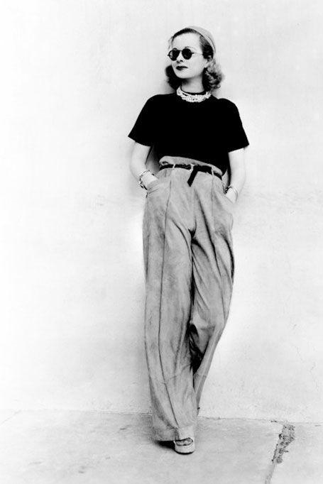 carole lombard pants   Carole Lombard, jaren dertig