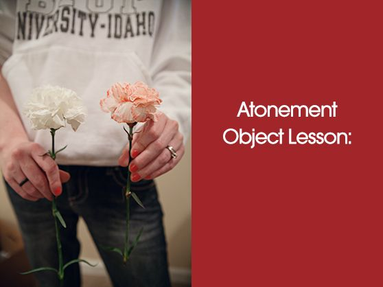 Day 7 – The Jewish Sabbath {Christ Centered Easter Week} - Atonement Object Lesson at mybellemichelle.com