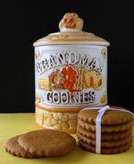 Grandma's Old Fashioned Molasses Cookies | Dulce Dough Recipes