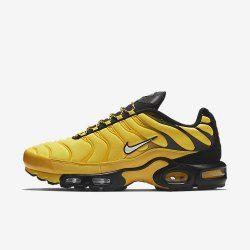 e57c9202e11 Nike Air Max Plus Tn Frequency Pack tour yellow white-black AV7940 700 Men s  Footwear Running Shoe