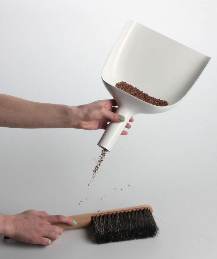 Sweeper and Funnel is so simple in it's core idea, that it becomes almost brilliant - it's the kind of design you wish you'd thought of yourself, and the obvious value of the design makes people wonder why no one has thought of this before? | huntingforgeorge.com