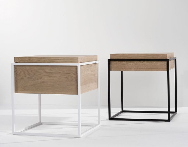 MONOLIT Side Tables for Universo Positivo - www.saschasartory.com