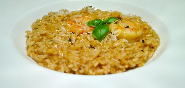 Rizotto con Gamberetti e Tonno #italianfood, #rizotto