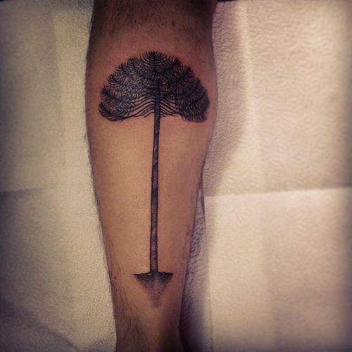 tatuaje araucaria - Buscar con Google