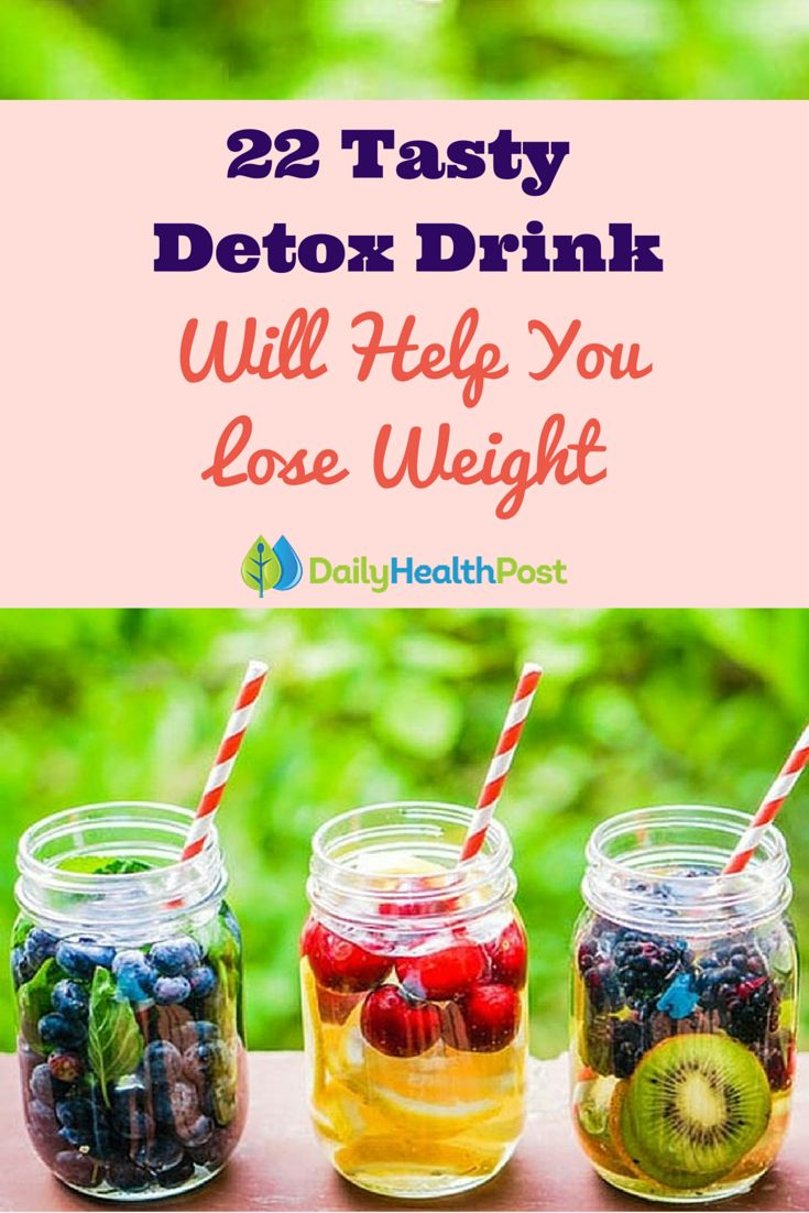 22 Tasty and Proven Detox Drinks That Will Help You Lose Weight.