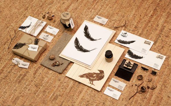 Branding: Crows' Nest by Eskimo http://blog.ams-designstudio.com/2013/03/branding-crows-nest-by-eskimo/