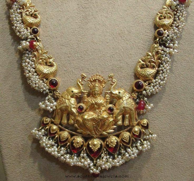 Goddess-lakshmi-necklace-tibarumals-jewellers.jpg (960×894)