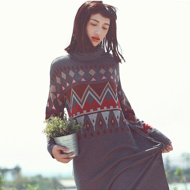 Aporia.as вязаное платье   Aporia.as вязанное длинное платье с этническим рисунком. 2 цвета: серый, светло-жёлтый. Ткань: 64% акрил, 36% полиэстер. Цена: 3000 руб. Заказы на сайте: bohomagic.ru, доставка от 2 недель. #бохо #boho #bohochic #бохошик #бохоодежда #girl #woman #мода #fashion #осень #Aporiaas #апориаас #интернетмагазин #одежда #шоппинг #женскаяодежда #стиль #bohomagic #магиябохо #платье #dress #этноплатье #bohemia #богемный #вестерн #хиппи #этника #этно #бохоплатье #cowgirl
