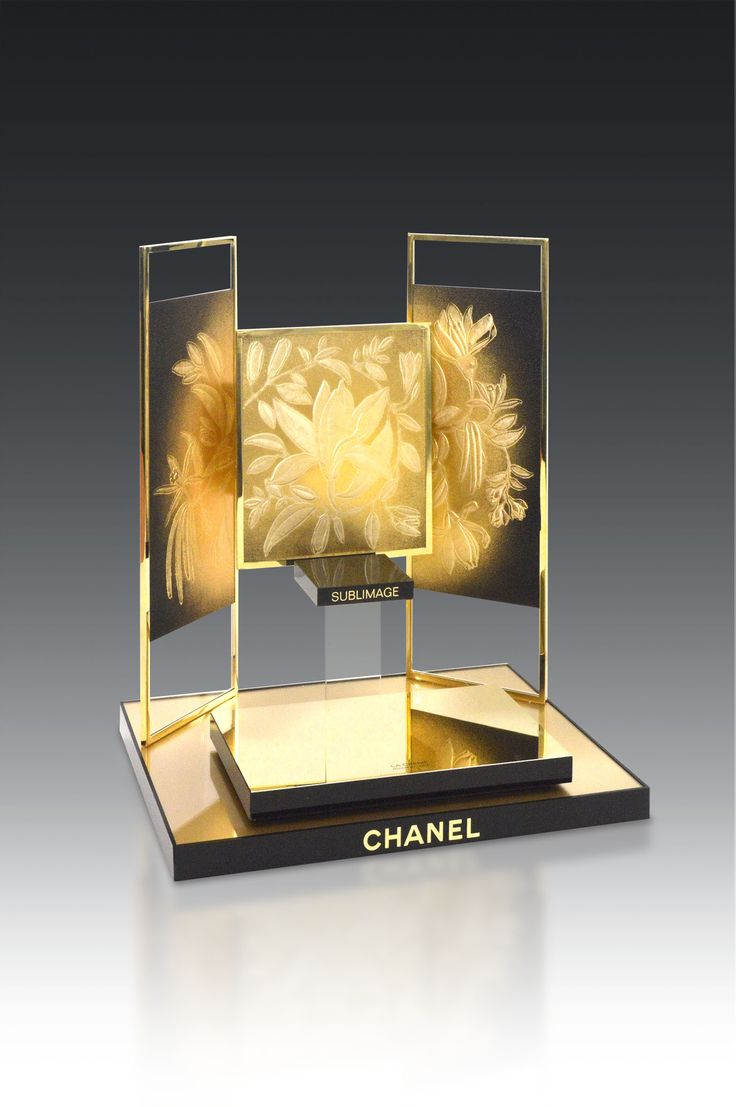 POPAI Awards Paris 2016 - COMPTOIR SOINS  SUBLIMAGE CHANEL	CHANEL - CHANEL #MPV2016
