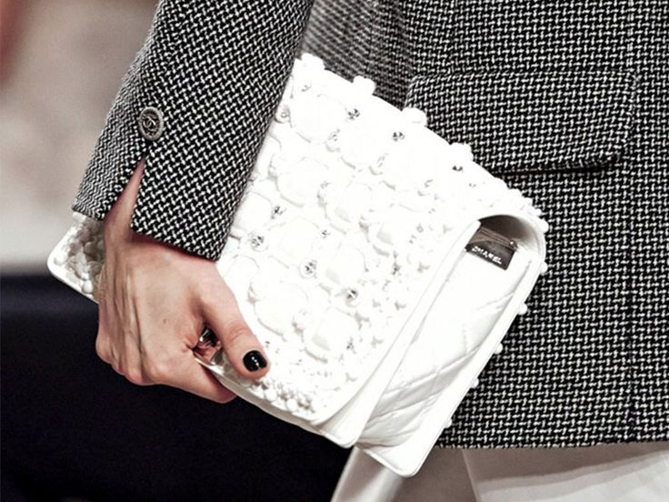 Chanel Cruise White Bag 2014