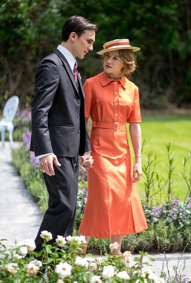 Ralph and Alice Whelan - Henry Lloyd-Hughes and Jemima West in Indian Summers, set in 1932 (TV series).