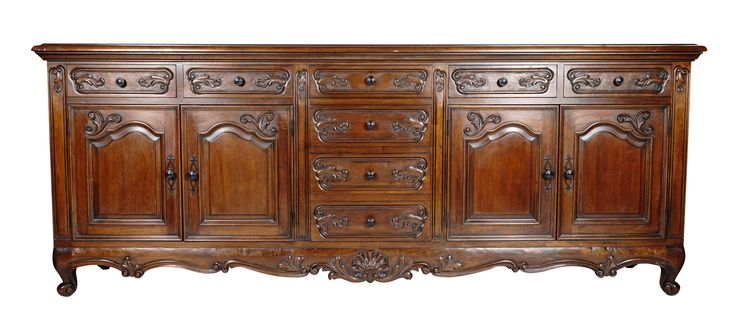 Buy Venetian Hand Carved Buffet: Alexandria by Villa de Romani - Quick Ship designer Furniture from Dering Hall's collection of Rustic / Folk Traditional Dressers.