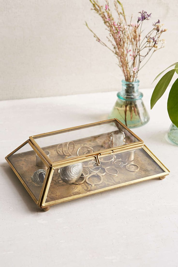 Magical Thinking Etched Medallion Box from Urban Outfitters. 5 Adorable Ring Holders -This Beautiful Day