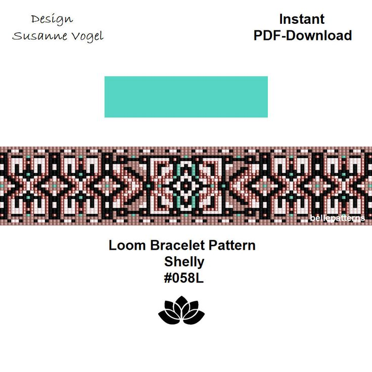 34 besten LOOM BRACELET PATTERNS Bilder auf Pinterest | Loom armband ...
