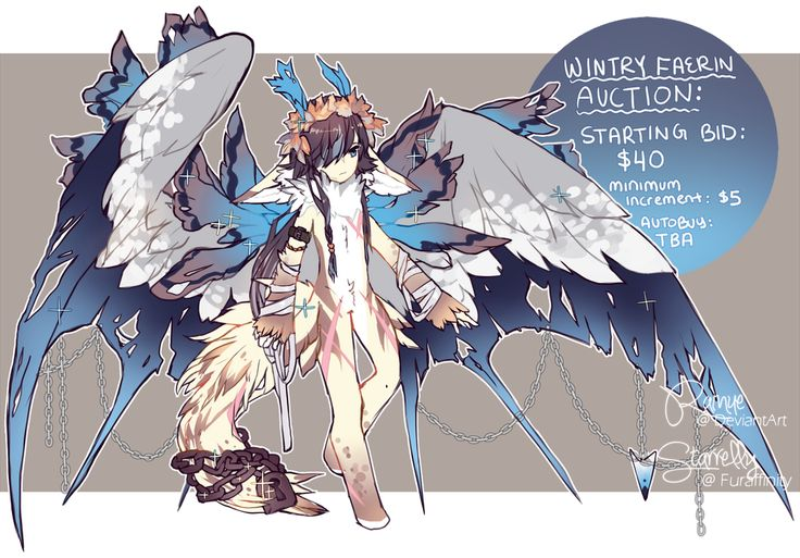 wintry faerin auction - closed by rainue on DeviantArt