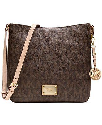 MICHAEL Michael Kors Jet Set Travel Large Messenger Bag - Handbags & Accessories - Macy's