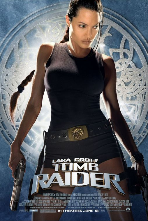 Lara Croft Tomb Raider is based on a video game. Watched the first time while doing an archaeological dig!  Awesome memories