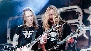 Children of Bodomin toinen kitaristi Roope Latvala (oik.) jättää bändin.
