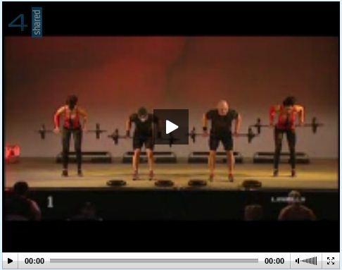 Download a body pump workout.... WOW! Free:)