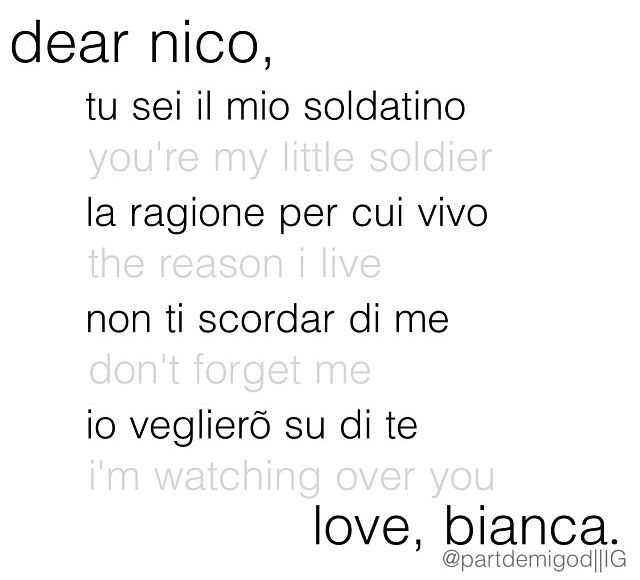 Bianca Di Angelo Quotes   www.imgkid.com - The Image Kid ...