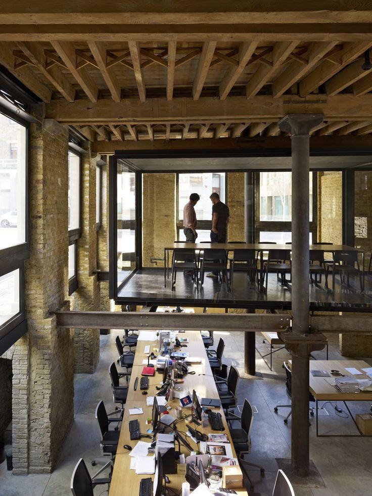 amin taha architects / 115 golden lane offices, london