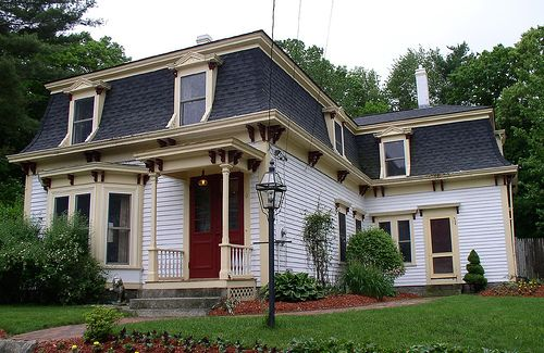 25 best ideas about mansard roof on pinterest roof for Mansard roof house plans