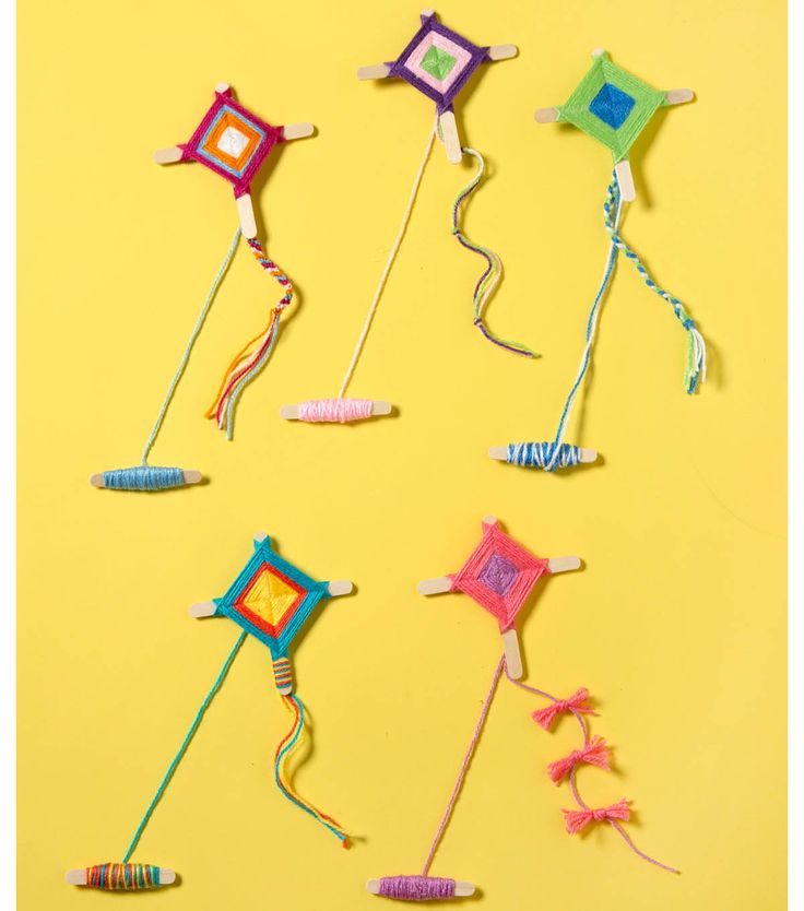 How To Make Yarn Kites