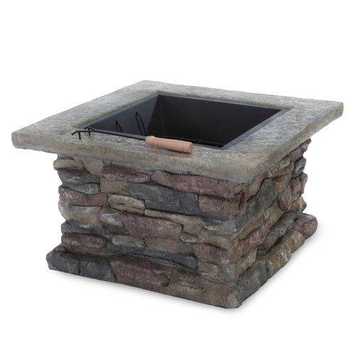 Stone Fire Pit-Wayfair