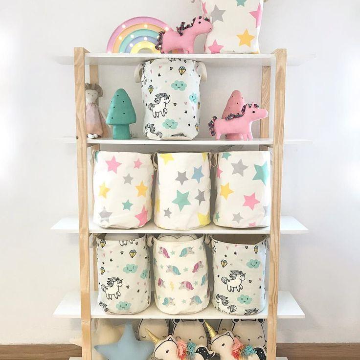 🌈⭐️Colores al Lunes ⭐️🌈 ✨Estos jugueteros tan lindos están otra vez en stock! 🍄39 cm. de alto 🍄 Consultanos inbox 💌 por envíos dentro de Córdoba y a todo país o para visitar nuestro showroom 💖  #tiendaandalaosa #jugueteros #contenedores #decokids #deco #decobaby #estrellas #unicornios  via ✨ @padgram ✨(http://dl.padgram.com)