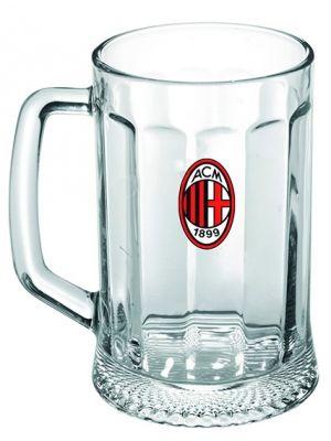 Kufel dla fanatyków AC Milan – teraz możesz raczyć się złocistym trunkiem z kufla z godłem ulubionej drużyny. Całości dopełnia opakowanie w barwach Rossonerich.