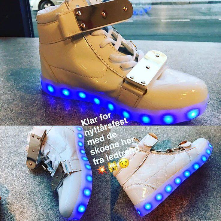 Noen har skoene klare til nyttårsaften ihvertfall  #ledtrend #barnemote #barnegave #gavetips #sko #barnesko #rosa #rosasko #jentesko #jentemote #julegaver #jul2016 #barnemoro #dragonfly #skonyheter #ledsquad #dans #dansetime #danseløve #dansesko #blinkesko #ledcreamy #fest