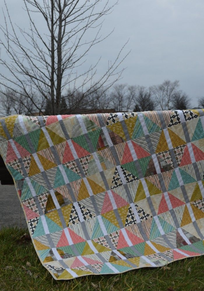Archer quilt pattern by Sharon Mcconnell featuring Art Gallery Fabrics
