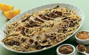 Krydret mørbrad Krydret mørbrad er en fedtfattig opskrift med inspiration fra mellemøsten. Det lækre kød serveres med en dejlig sauce med masser af smag - prøv den.