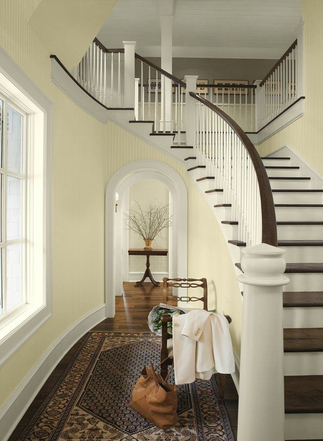 1025 best Escaliers images on Pinterest Stairs, Door entry and - idee deco entree maison