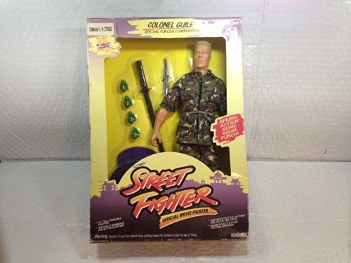 Colonel Guile Special Forces Commander Street Fighter Official Movie Fighter 12 Poseable Figure @ niftywarehouse.com #NiftyWarehouse #StreetFighter #VideoGames #Gaming
