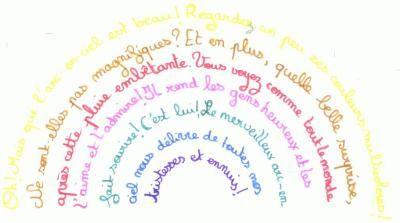 Poeme-Arc en Ciel - Mon blog