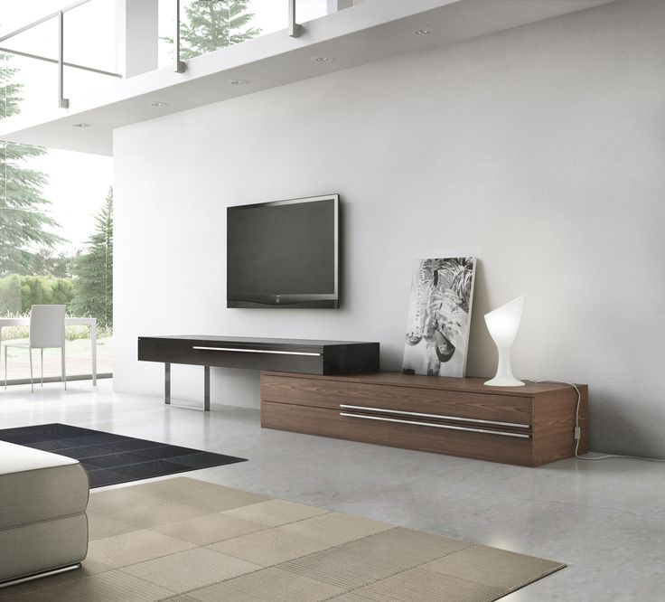 Create a wall unit to fit any size wall. The Gramercy media console offers a new creative perspective where the boundaries of materials, colors, and innovation merge. The Gramercy combines a wood base with a lacquered mezzanine supported by a chrome steel leg. Lengthen or shorten the overall unit by sliding the position of the mezzanine unit, allowing you great flexibility to accommodate any wall size. Base features two extra large pull-out drawers, while mezzanine features single pull-out…