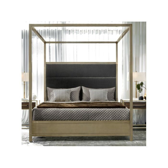 Wilmington Upholstered Panel Bed With Images Upholstered Panel