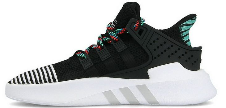 finest selection 3afbe 63e5c Adidas EQT Basketball Adv Black Green White Cq2993 Discount Shoe Black  Running Shoes, Black Shoes