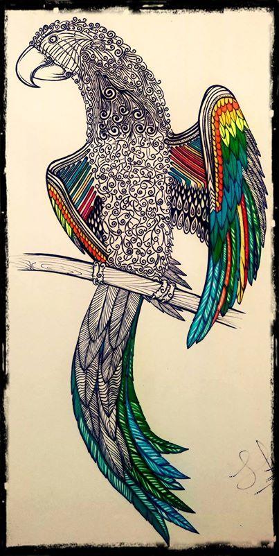 guacamayo tricolor