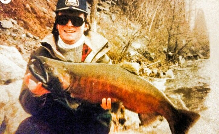 1993 Credit River Coho Salmon Live Release Record #getbitnow