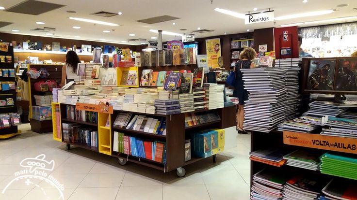 São Paulo: Livraria Saraiva e Shopping Vila Olímpia