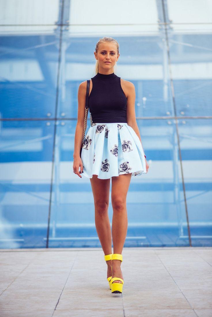 1000+ images about Janni Deler on Pinterest | Fringe skirt, Zara ...