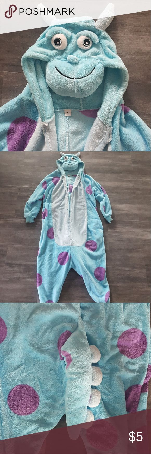 Monsters Inc Sully Onesie Sully From Monsters Inc Onesie monster high Intimates & Sleepwear Pajamas