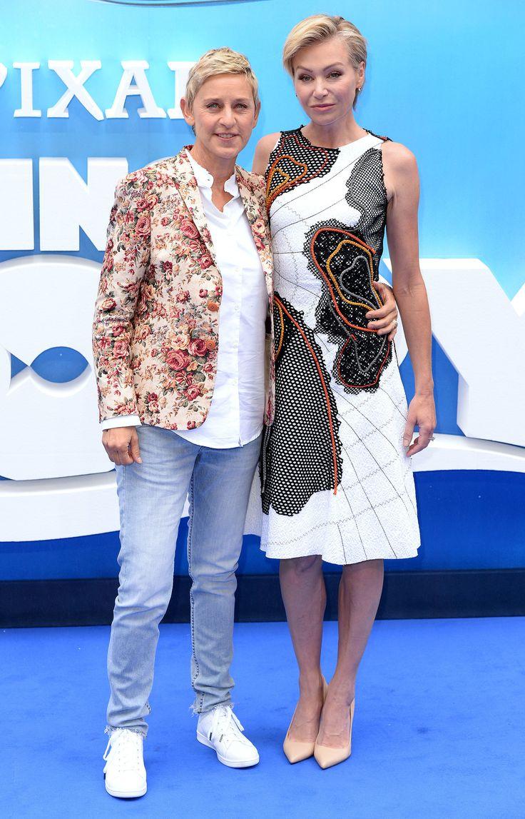 Ellen DeGeneres Only Has Eyes For Portia de Rossi on the Red Carpet