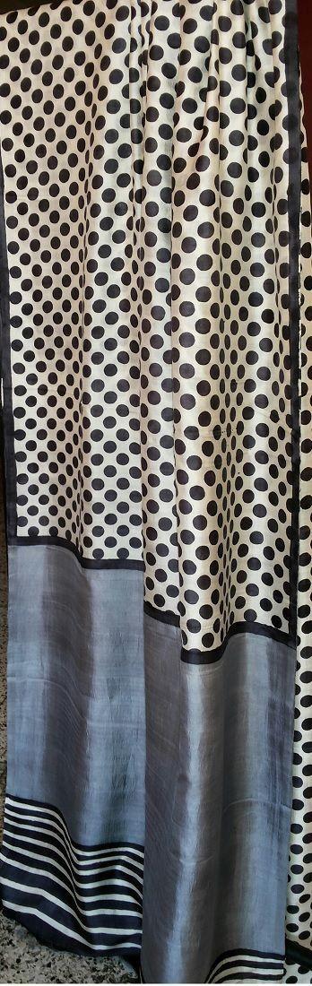 Polka Dots Bengali Pure Silk Saree Price: 7,500INR