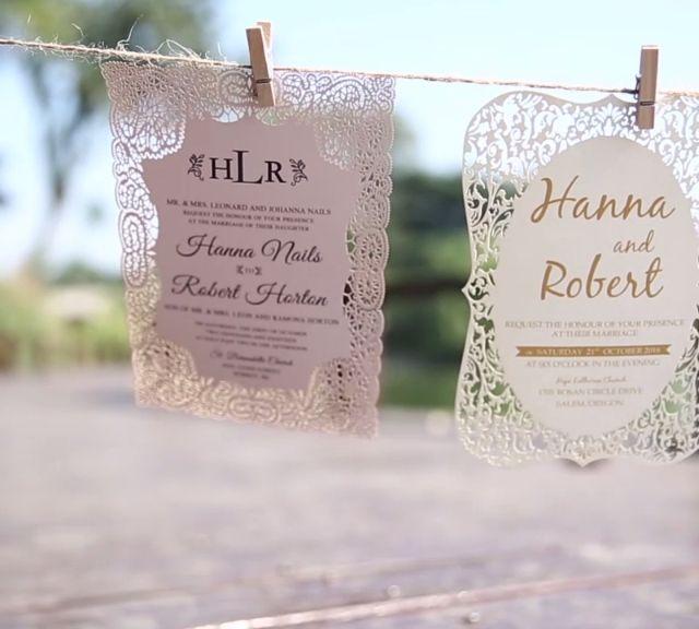 ElegantWeddingInvites Fancy Shape Wedding Invitations Preview for 2018